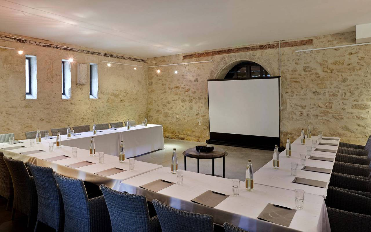 Beautiful meeting room, meeting in Montpellier, Château les Carrasses