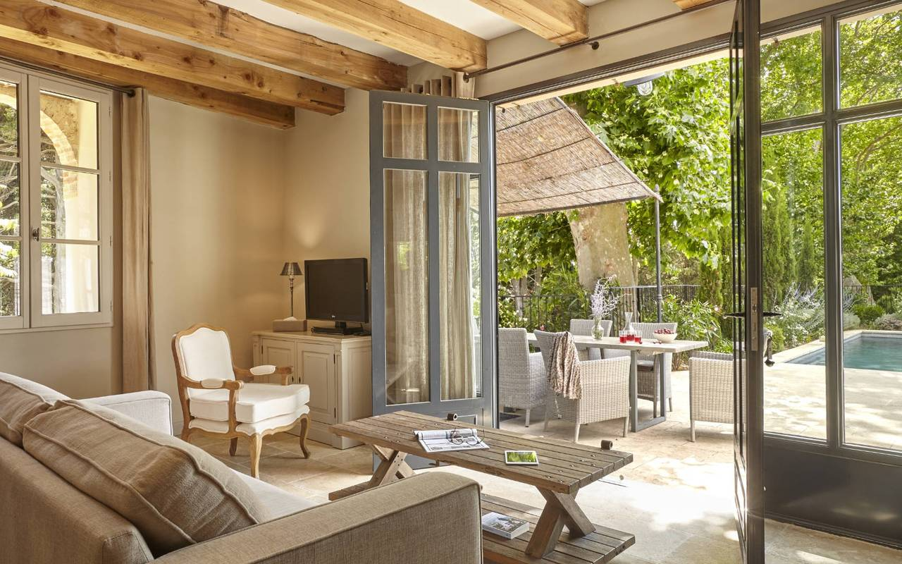 Living room, conference France, Domaine & Demeure events.