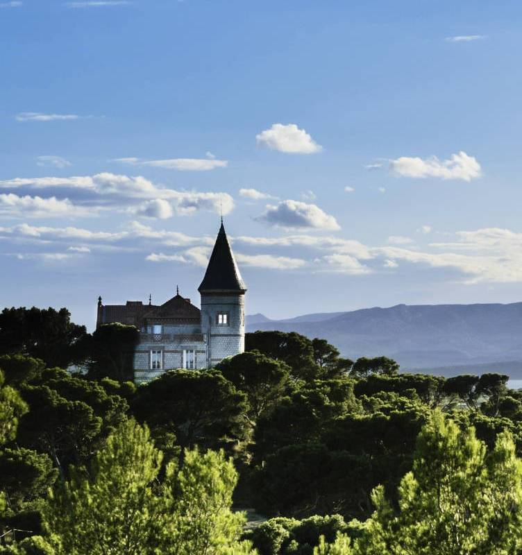 View of Domaine du Capitoul, vineyards in Languedoc, Domaine & Demeure events.