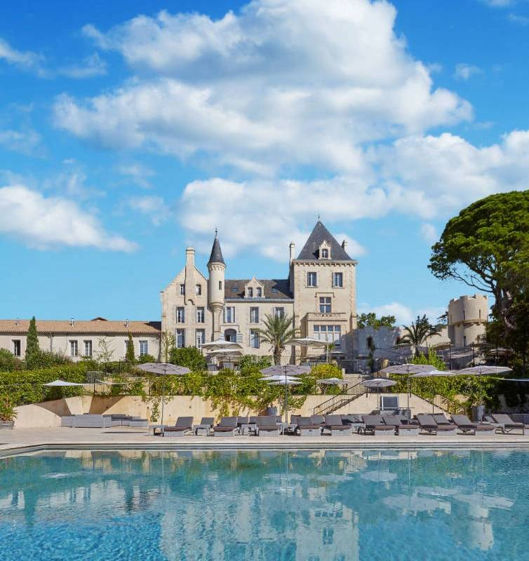 View of Domaine Les Carrasses, vineyards in Languedoc, Domaine & Demeure events.