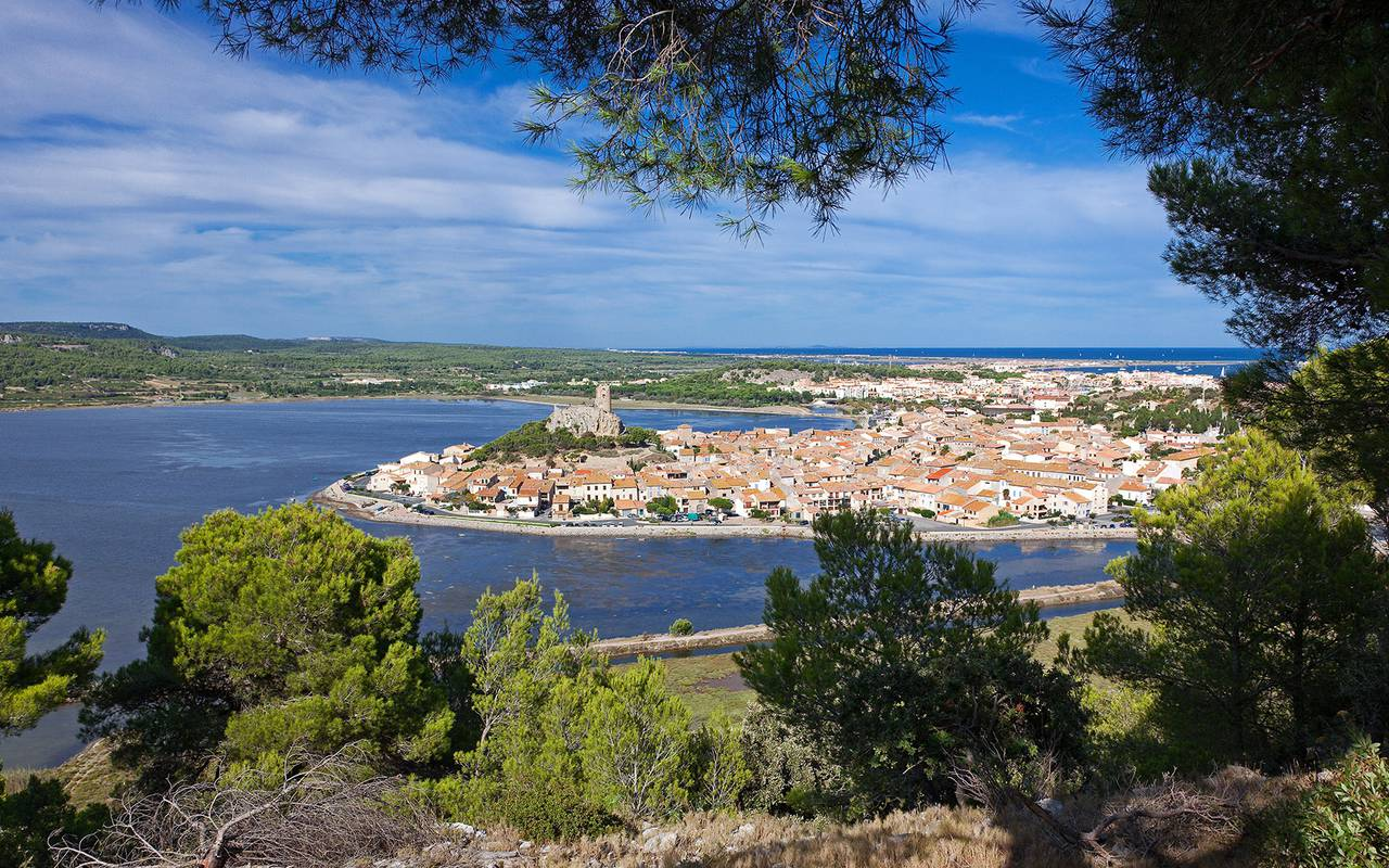 View of Gruissan, close to the best languedoc wines, Domaine & Demeure Events