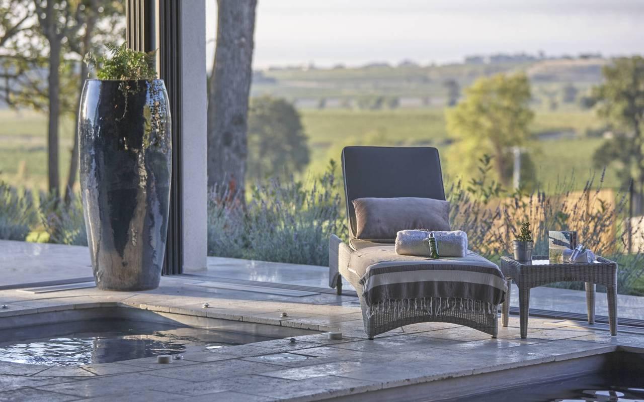 Spa avec panorama, séminaire Narbonne, Domaine du Capitoul.