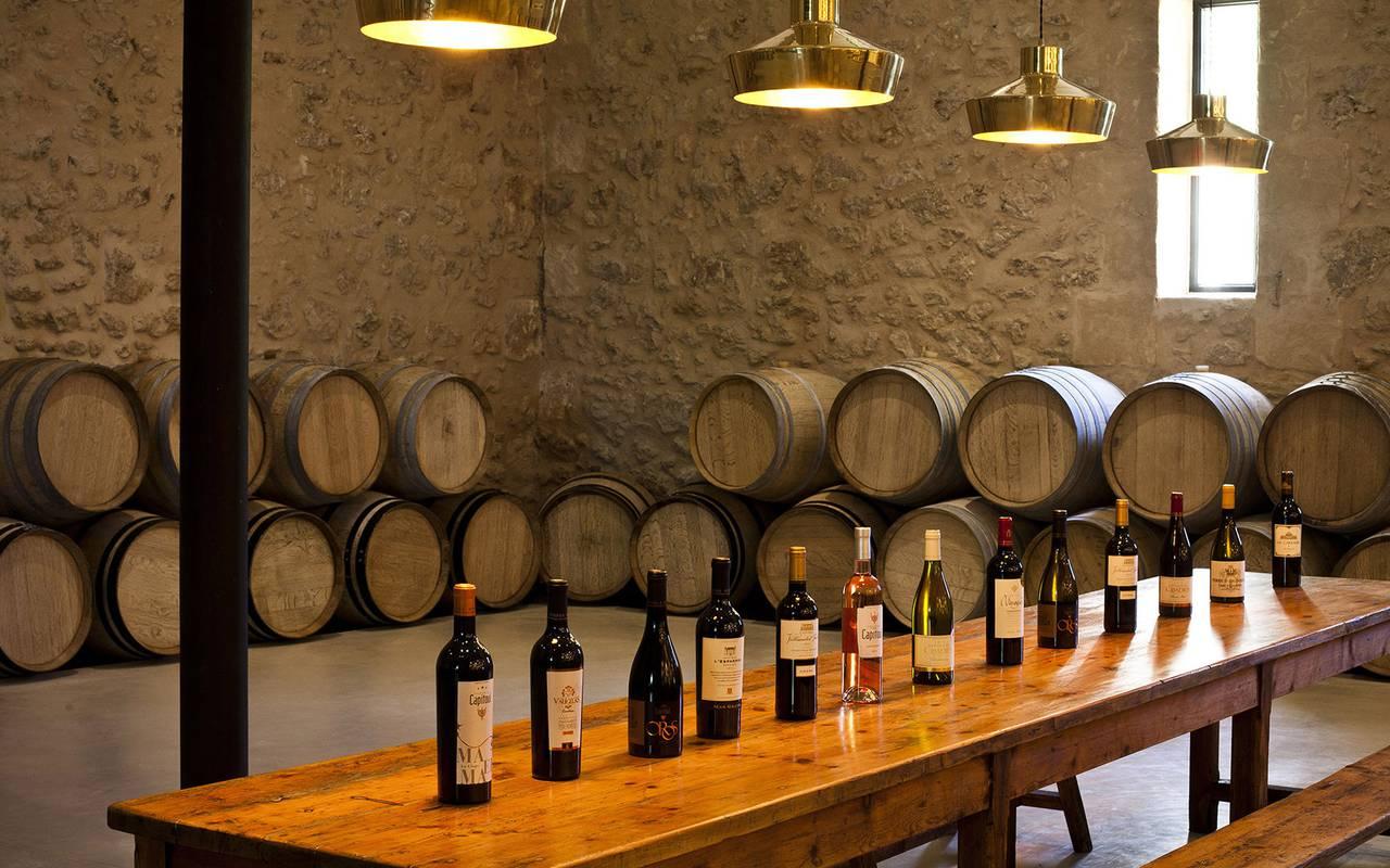 Dégustation de vins dans le caveau, lieu séminaire Toulouse, Domaine & Demeure events.