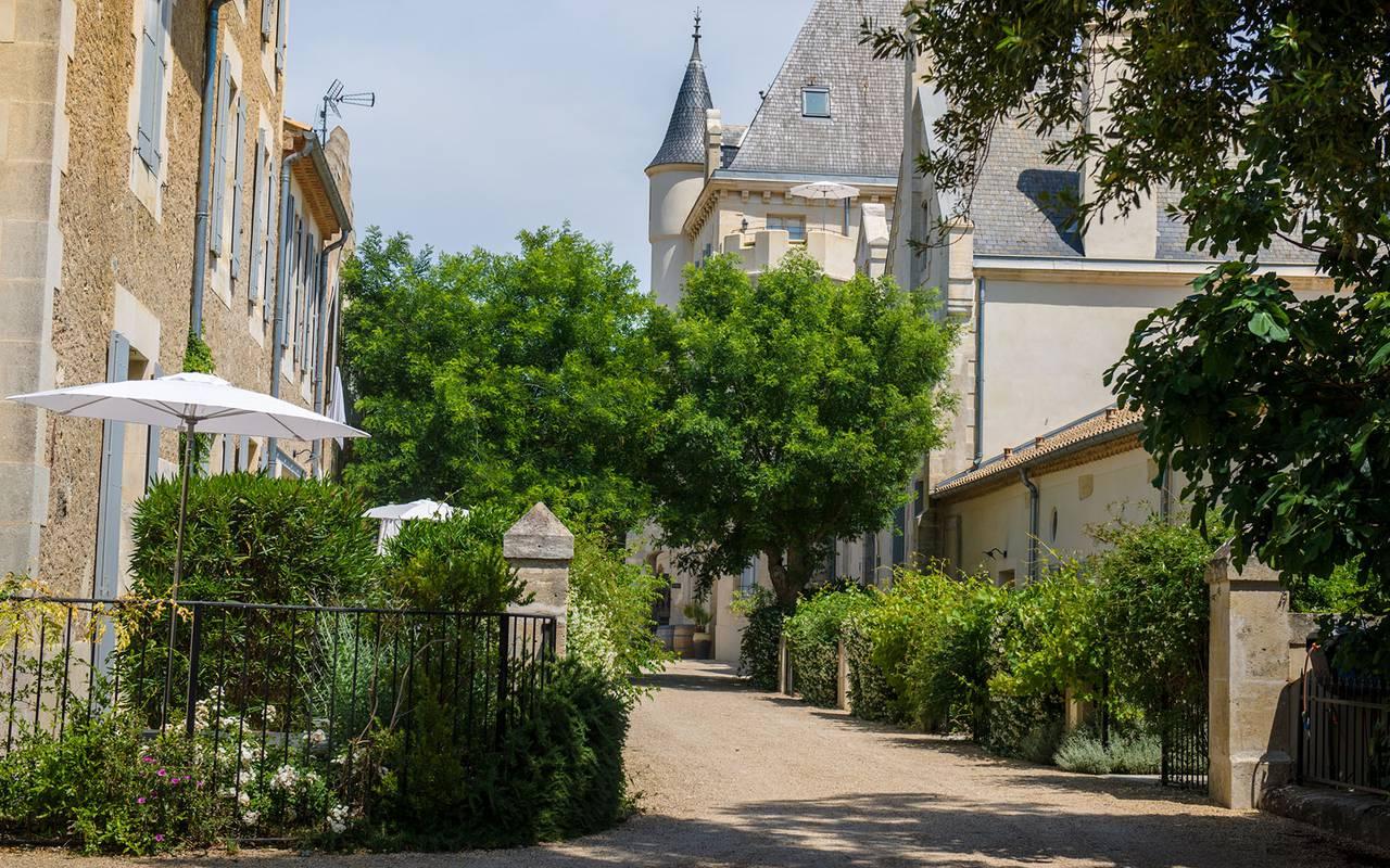 Entrée de l'hôtel, lieu séminaire Toulouse, Domaine & Demeure events.