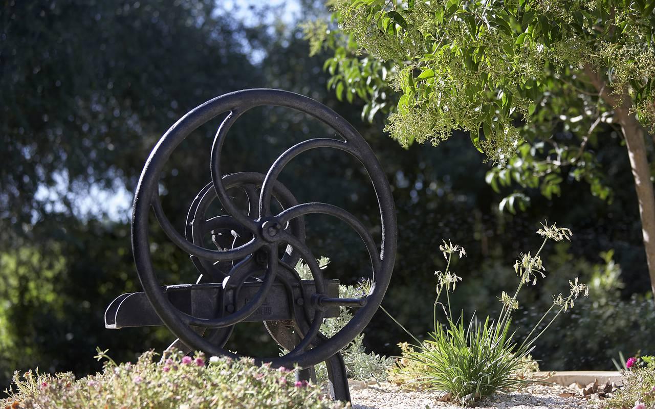 décoration de jardin, location vacances occitanie, Domaine et Demeure